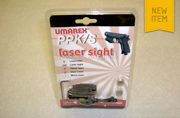 Umarex Walther PPK laser