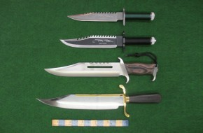 Collectors Bowies Knives