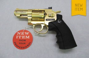 "ASG Dan Wesson ""Gold Snub Nose"" Ltd Edition"