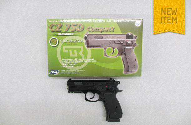 ASG CZ 75D Compact Black