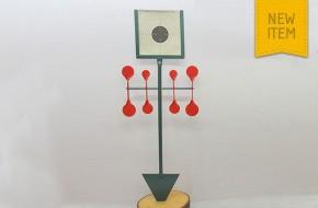 """Red"" Spinner & paper target holder"