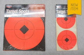 Self adhesive fluorescent targets