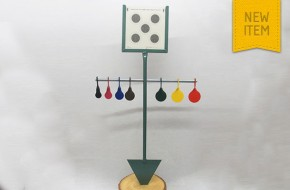 """Snooker"" Spinner & paper target holder"