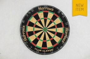 "Harrows ""Club"" Bristle Dart Board"