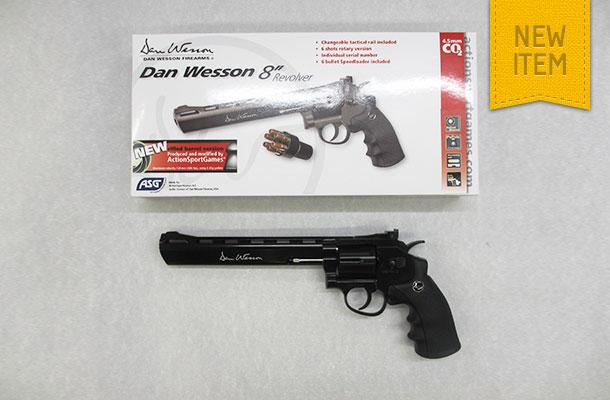 ASG Dan Wesson Rifled Barrel Revolvers -