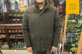 Country Estate Warm Quilted Fleece Lined Coat