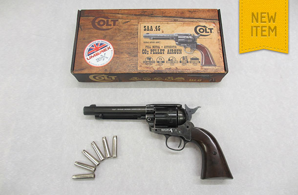 Umarex Colt SAA .45 .177 Rifled