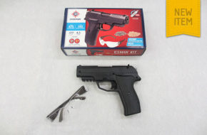 Crosman Iceman CO2 BB and Pellet Pistol Kit