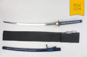 Warriors Rage in Blue' Minamoto Katana