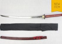 Warriors Rage in Red' Minamoto Katana