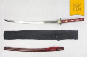 Warriors Rage in Red' Minamoto Katana