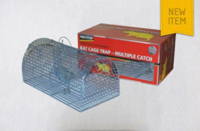 Pest-Stop Metal Multi Catch Rat Cage Trap