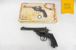 Webley MKVI Service Revolver (Battlefield finish)