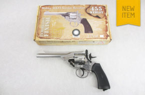 Webley MKVI Service Revolver (Exhibition finish)