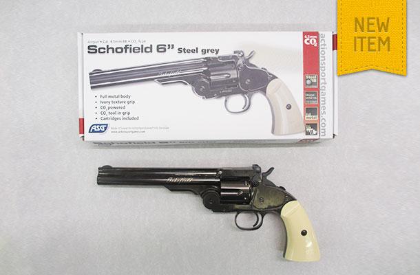 """ASG Schofield 6"""" BB Revolver"""