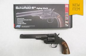 "ASG Schofield 6"" with Aging Black Finish"