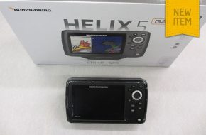 Humminbird Helix 5 with internal precision GPS and dual beam